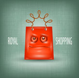 Shopping royal Stock Photography