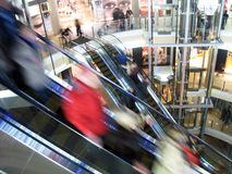 Shopping in Russia Stock Photography