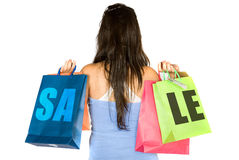 Shopping sale Stock Photos