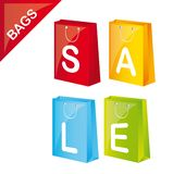 Shopping sale Royalty Free Stock Photography