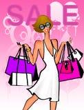 Shopping sale Stock Image