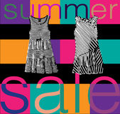 Shopping sale banner Stock Images