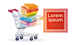 Shopping Sale Books Stack Education Concept Stock Images