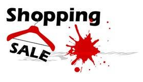 Shopping sale design stock photos