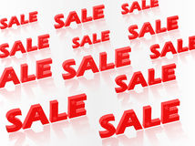 Shopping sale design Royalty Free Stock Images