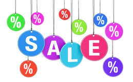 Shopping Sale And Discount Concept Royalty Free Stock Photo