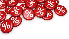 Shopping Sale Discount Percent Badges Royalty Free Stock Photos