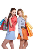 Shopping, sale and gifts concept Stock Image