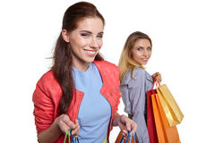 Shopping, sale and gifts concept Royalty Free Stock Image
