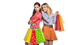 Shopping, sale and gifts concept Royalty Free Stock Images