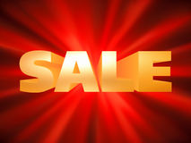 Shopping sale poster. EPS 8 Stock Images
