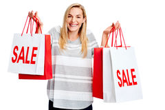 Shopping sale Royalty Free Stock Images