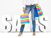 Shopping sales Royalty Free Stock Photos