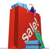 Shopping Sales Royalty Free Stock Image