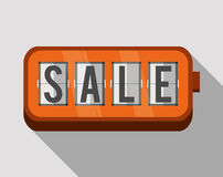 Shopping sales graphic Stock Photography