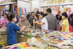 Shopping in Sampeng Lane. Stock Photography