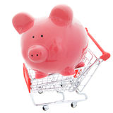 Shopping save Stock Image