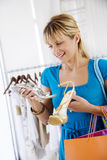 Shopping selection Stock Photo