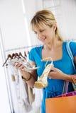 Shopping selection Stock Photo