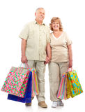 Shopping seniors Royalty Free Stock Photography