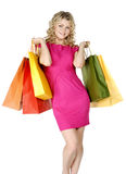 Shopping sexy woman Royalty Free Stock Photo