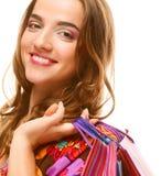 Shopping sexy woman Stock Photo