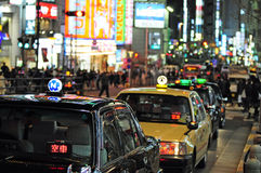 Shopping in Shinjuku, Tokyo Royalty Free Stock Photos