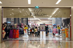 Shopping in Siam Paragon Stock Photography