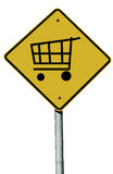 Shopping Sign Stock Images