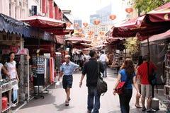 shopping singapore Royaltyfri Foto