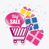 Shopping special offer and disocunts Royalty Free Stock Images
