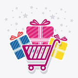 Shopping special offer and disocunts Royalty Free Stock Image