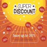 Shopping special offers. Design, vector illustration eps 10 Royalty Free Stock Photo