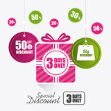 Shopping special offers, discounts and promotions Stock Photos