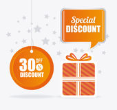 Shopping special offers, discounts and promotions Stock Photography