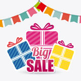 Shopping special offers, discounts and promotions Royalty Free Stock Photos