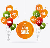 Shopping special offers, discounts and promotions Royalty Free Stock Photography
