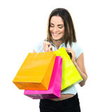 Shopping spirit Stock Image