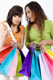 Shopping spree stock images