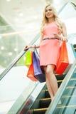 Shopping spree. Fotografia Stock Libera da Diritti