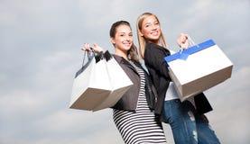 Shopping spree royaltyfri foto