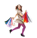 Shopping spree Royalty Free Stock Images