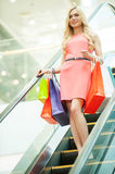 Shopping spree. Royalty Free Stock Photo