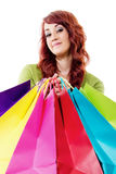 Shopping spree Stock Image