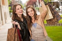 Shopping spree. Stock Photos