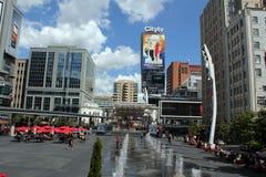 Shopping square for tourist, Toronto Stock Photo