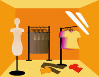 Shopping Stall Royalty Free Stock Photos