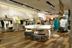 Shopping store in ShenZhen Stock Photo