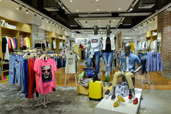 Shopping store in ShenZhen Stock Images