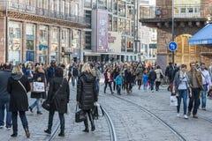 Shopping in Strasbourg, France Stock Photos